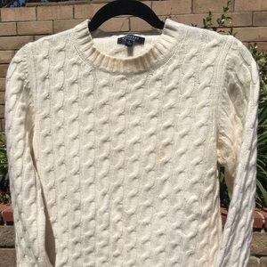 Burberry Cashmere Pullover Sweater